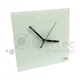 Часы стеклянные квадратные 20х20см BL26 для сублимации