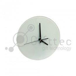 Часы стеклянные d=18см BL27 для сублимации