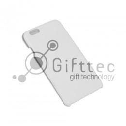 IPhone 6/6S - Белый чехол глянцевый пластик (для 3D - сублимации)