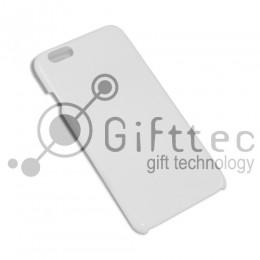 IPhone 6/6S PLUS - Белый чехол матовый пластик (для 3D - сублимации)