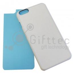 IPhone 6/6S PLUS- Белый чехол пластиковый (вставка под сублимацию)