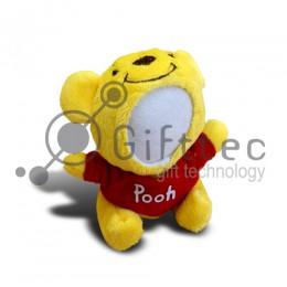 3D Игрушка Винни Пух (размер 13 см) запечатка 5х5см / 2-PD82