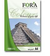 Фотобумага FORA самоклеящаяся глянцевая 120 гр А4 20 листов