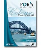 Фотобумага FORA самоклеящаяся матовая 120 гр А4 20 листов