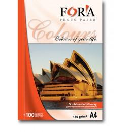 Фотобумага FORA двухсторонняя глянцевая 180 гр А4 50 листов