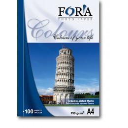 Фотобумага FORA двухсторонняя матовая 220 гр А4 50 листов