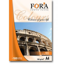 Фотобумага FORA матовая 128 гр А3 50 листов