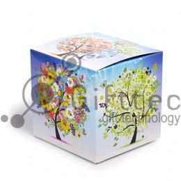 """Коробка подарочная для кружки без окна """"Времена года"""""""