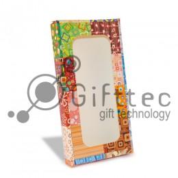 Коробка подарочная для чехла с окном