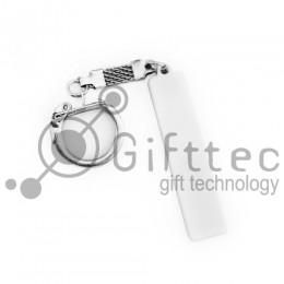 Брелок для ключей ГОСНОМЕР под сублимацию (комплект для изготовления брелока) упаковка 10шт
