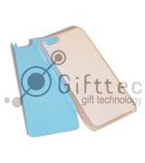 IPhone 6/6S - Прозрачный чехол пластиковый (вставка под сублимацию)