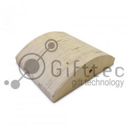 Форма деревянная для изготовления малой вогнутой фоторамки (для 3D-машины настольной)