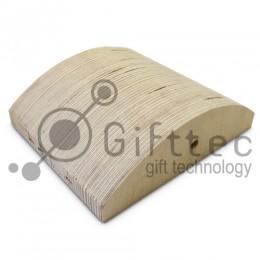 Форма деревянная для изготовления большой вогнутой фоторамки (для 3D-машины настольной)