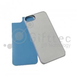 IPhone 7 - Белый чехол пластиковый (вставка под сублимацию)