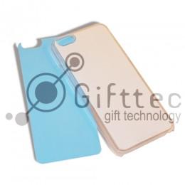IPhone 7 - Прозрачный силиконовый чехол (вставка под сублимацию)