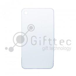 Брелок для ключей металический СЕЛФИ БЕЛЫЙ упаковка 10шт для сублимации