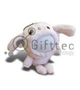3D Игрушка Медвежонок РОЗОВЫЙ (размер 12см) запечатка 5х5см / 2-PD30