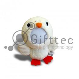 3D Игрушка Утка (размер 12 см) запечатка 5х5см / 2-PD37