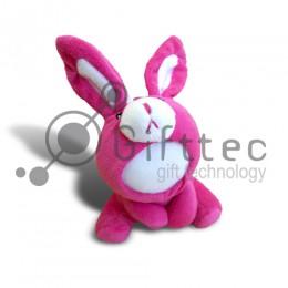 3D Игрушка Кенгуру РОЗОВЫЙ (размер 15 см) запечатка 5х5см / 2-PD40