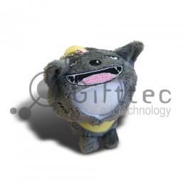 3D Игрушка Волк (размер 12 см) запечатка 5х5см / 2-PD62