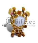 3D Игрушка Жираф (размер  12 см) запечатка 5х5см / 2-PD66