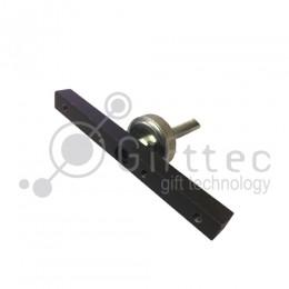 Планка прижимная с регулировкой для кружечного термопресса