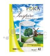 Фотобумага FORA сублимационная 100гр А3 100 листов