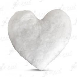 Наполнитель для подушки в виде сердца 40x40см