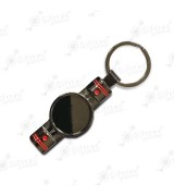 Брелок для ключей ПОРШЕНЬ PREMIUM ЧЕРНЫЙ (комплект для изготовления брелока) упаковка 10шт