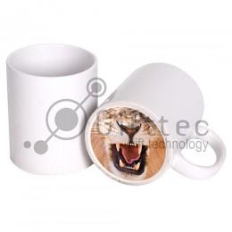 Кружка белая (Веселый нос) ЛЕВ для сублимации