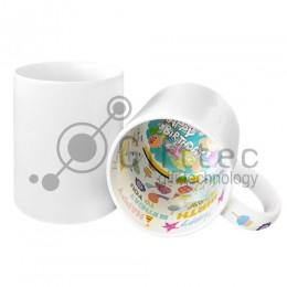Кружка белая с печатью внутри HAPPY BIRTHDAY для сублимации