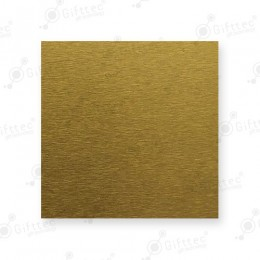Пластина 10х15см металлическая (алюминий) 0,45мм ЗОЛОТО ТИТАН для сублимации