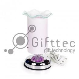 Лампа настольная, стеклянный абажур для сублимации