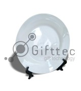 Тарелка белая d=20см для сублимации