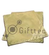 Наволочки золотые 42х42см (без квадрата), 2шт
