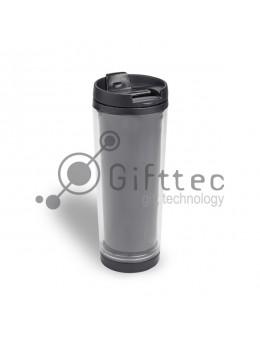 Термостакан пластиковый (съёмное дно) для полиграфической вставки, 330 мл