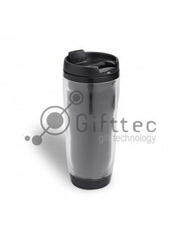 Термостакан пластиковый  для полиграфической вставки, 340 мл
