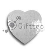 Пазл магнитный для сублимации в виде сердца (76 элем)