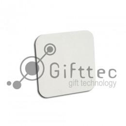 Магнит на холодильник квадрат с закругленными углами 5х5см (упаковка 5шт) для сублимации