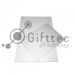 Пластина 20х30см металлическая (алюминий) 0,45мм БЕЛЫЙ для сублимации