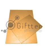 Пластина металлическая (сталь) 40х60см ЗОЛОТО-МЕТАЛЛИК для сублимации