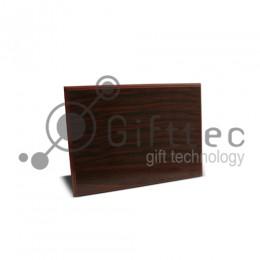 Плакетка деревянная МАХАГОН 15х20см (в индивидуальной упаковке)