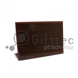 Плакетка деревянная МАХАГОН 20х30см (в индивидуальной упаковке)