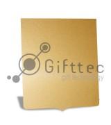 Пластина металлическая (алюминий) Герб ЗОЛОТО ГЛЯНЦЕВОЕ для сублимации