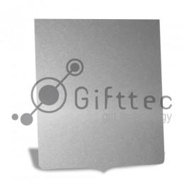 Пластина металлическая (алюминий) Герб СЕРЕБРО ГЛЯНЦЕВОЕ для сублимации
