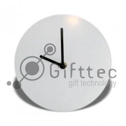 Часы настенные стеклянные d=31см для сублимации