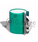 Зажим для кружки силиконовый стандартный ЗЕЛЁНЫЙ для использования в печи или 3D-машине вакуумной, настольной