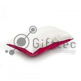 Подушка с наволочкой КРАСНАЯ (поле под сублимацию 40х25см)