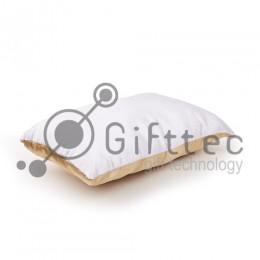 Подушка с наволочкой ЗОЛОТАЯ (поле под сублимацию 40х25см)