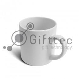 Кружка кофейная белая h=7.2см, d=7см, 180мл (в коробке) для сублимации